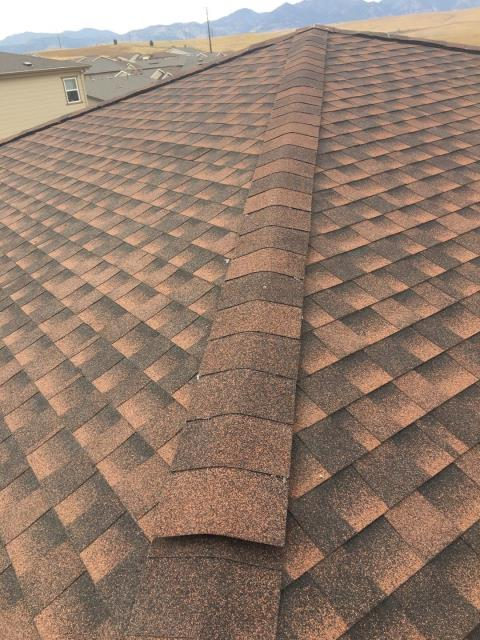 Broomfield, CO - Nothing looks better than a brand new roof
