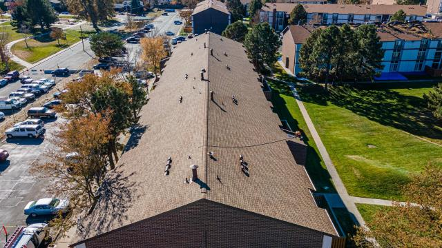 Denver, CO - Look at that beautiful new roof!