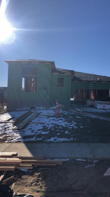 Arvada, CO - Roofing this new construction home this week. Looking good! Roofing in Arvada is always a good time.