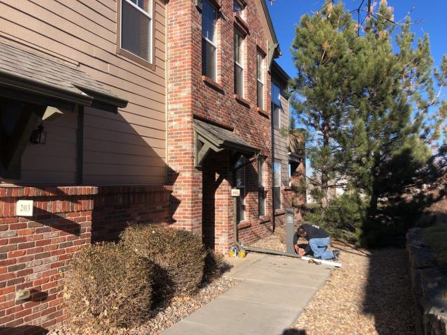 Aurora, CO - It's a beautiful day to be doing some roof inspections in Aurora, CO