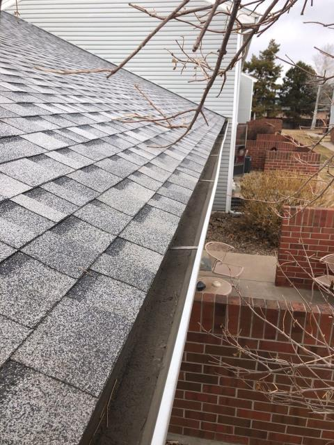 Thornton, CO - Checking in for this Gutter Clean in Thornton!