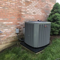 Miamisburg, OH - AC Tune Up & Safety Check on Trane Unit.