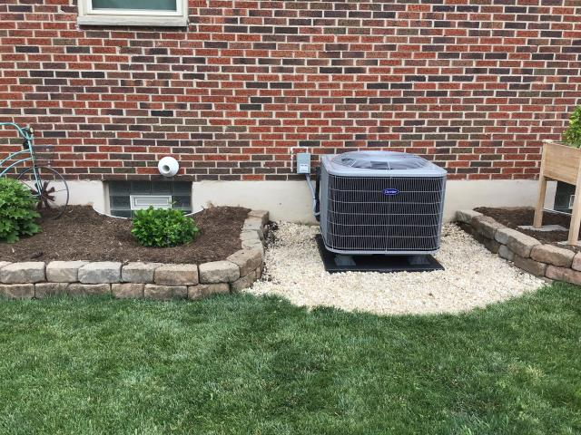Miamisburg, OH - I installed a new Carrier 16 SEER 3 Ton Air Conditioner