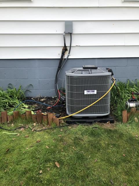 Fairborn, OH - I installed a new Five Star 80% 70,000 BTU Gas Furnace