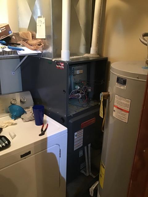 Bellbrook, OH - Condensate pump install