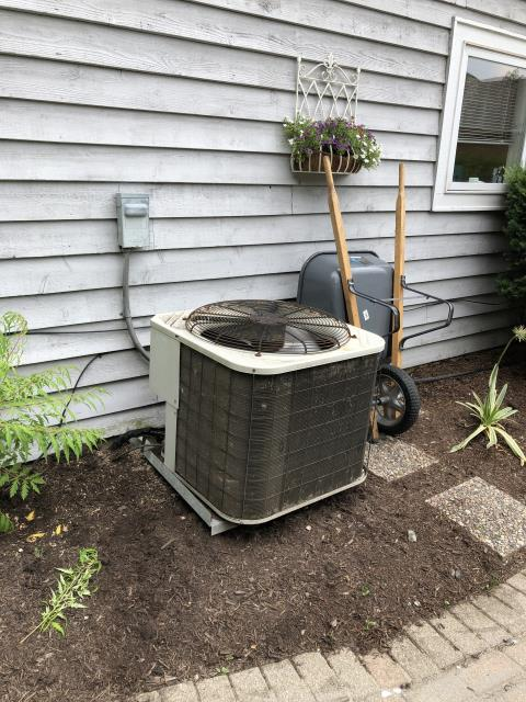 """Dayton, OH - I installed a new  Carrier """"Infinity Series"""" 80% 2 Stage Variable Speed 110,000 BTU Gas Furnace--Carrier """"Infinity Series"""" 19 SEER Variable-Speed 4 Ton Air Conditioner--iWave-R Air Purifier"""
