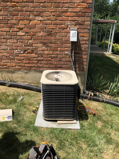 Miamisburg, OH - During tune-up inspection on Lennox AC & Furnace, found indoor blower capacitor and outside capacitor reading low. Replaced Replace OEM Motor Surge Capacitor & Compressor-Motor Surge Capacitor. Unit cooling properly at this time.
