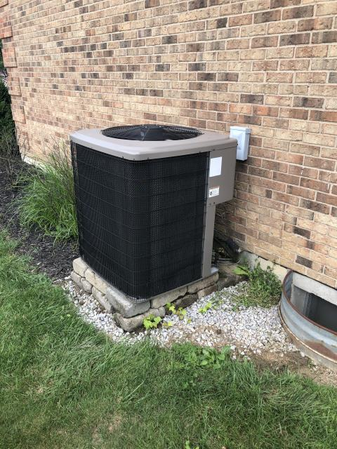 Washington Township, OH - Upon arrival for service for 2008 York AC unit, pulled & cleaned blower motor also sprayed off indoor coil. While reinstalling blower motor and discussing future options with customer, customer has decided to purchase a new system.