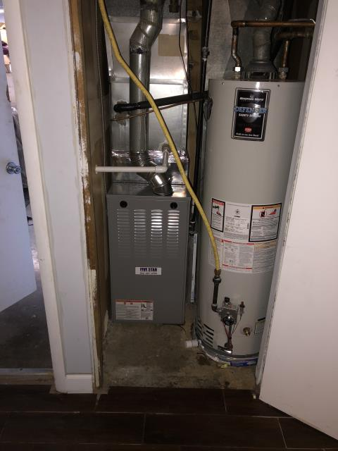 """West Carrollton, OH - I installed a Five Star 80% 70,000 BTU Gas Furnace 3T 17"""". This install came with a scheduled maintenance agreement lasting a year."""