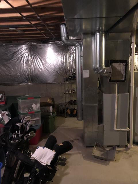 Mason, OH - I provided an estimate to install a Five Star 96% Gas Furnace (Up to 100,000 BTU) to replace 1998 Carrier gas furnace and a Five Star 16 SEER 3 Ton Air Conditioner.