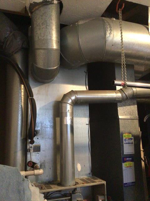 "Springboro, OH - I installed a Five Star 80% 90,000 BTU Gas Furnace 4T 21""."