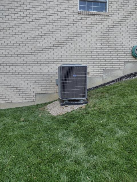 Beavercreek, OH - I performed an inspection of the installation of a Five Star 16 SEER 5 Ton Air Conditioner. All systems components are within manufacturers specifications and system is cooling at this time.