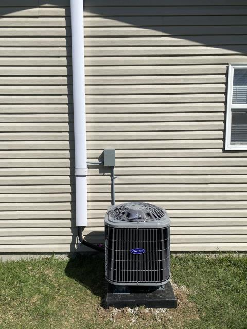 Xenia, OH - Upon inspection, I found the unit was low on refrigerant. I added the needed refrigerant with customer's permission and cycled the unit. System is operational upon departure.