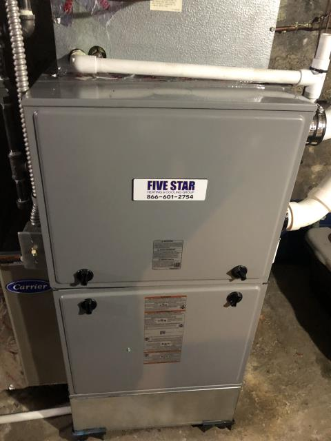 Cedarville, OH - Upon arrival, I applied chrome tape to the duct work. I cycled the system to ensure functionality. System is operational upon departure.