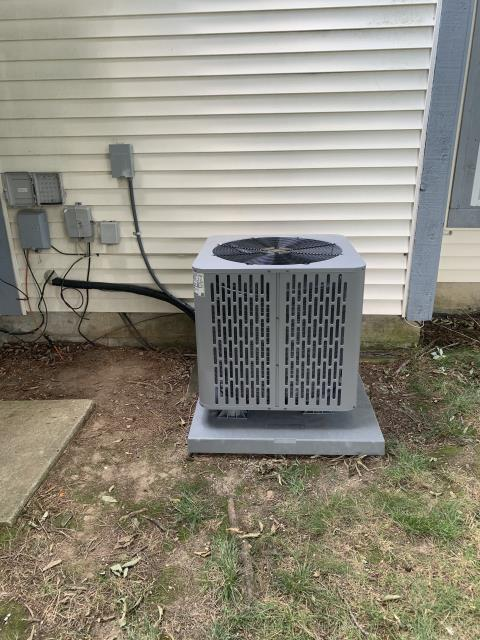 Centerville, OH - I arrived on site to perform an installation of a Trane RunTru 80% 100,000 BTU Gas Furnace and a Trane RunTru 13 SEER 3 Ton Air Conditioner, as they were the best fit for the customers home. The installation was successful and the unit was running at full functionality at the time of departure.