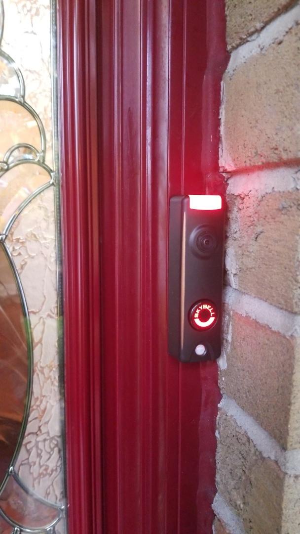 Installing Skybell Video Doorbell Security Solution
