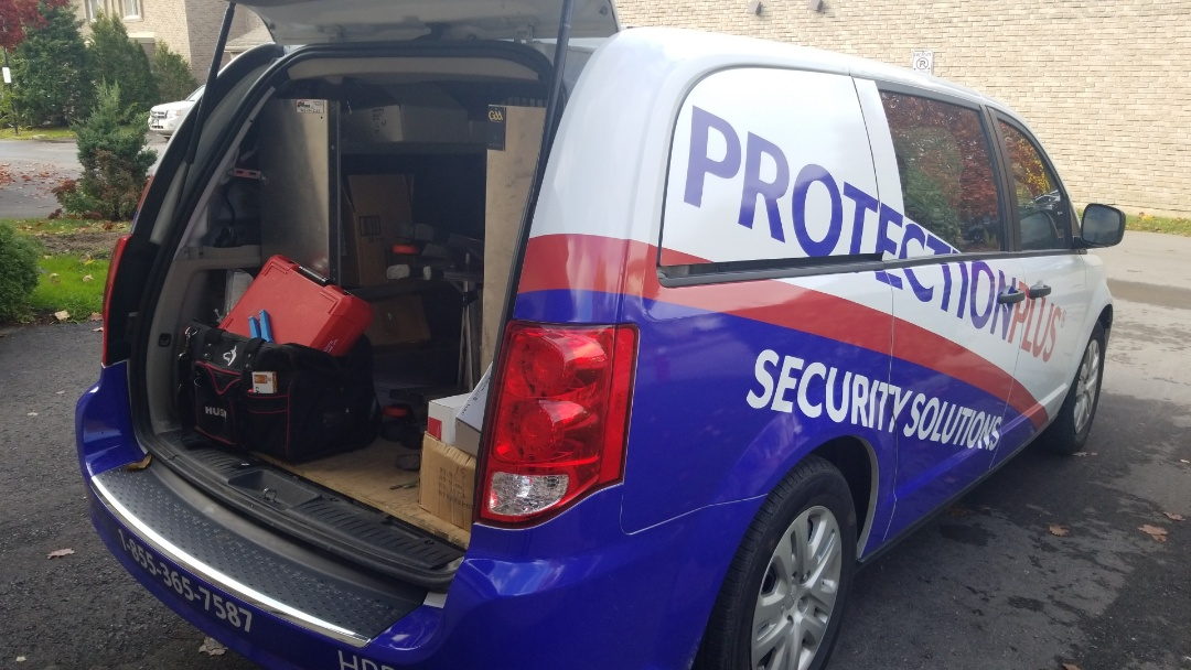 New Security Systems Install