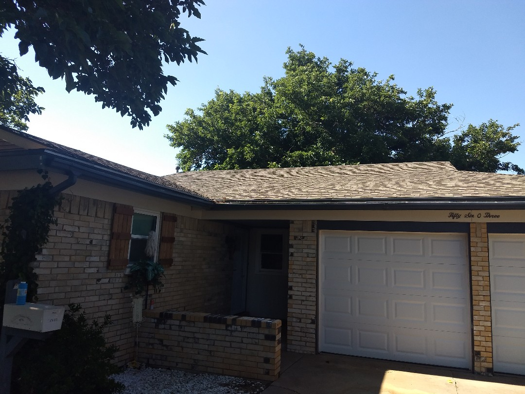 Lubbock, TX - Re-roof estimate for Hail and wind damage roof