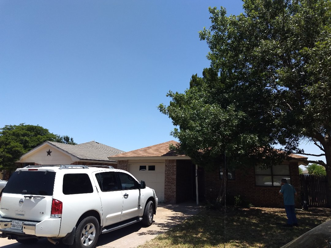 Lubbock, TX - Free roof estimate for Hail and wind damaged roof