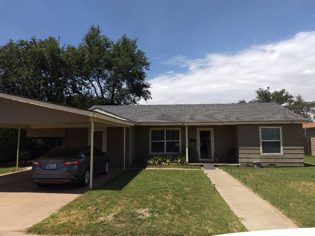 Levelland, TX - Reroof estimate for Hail and wind damaged roof