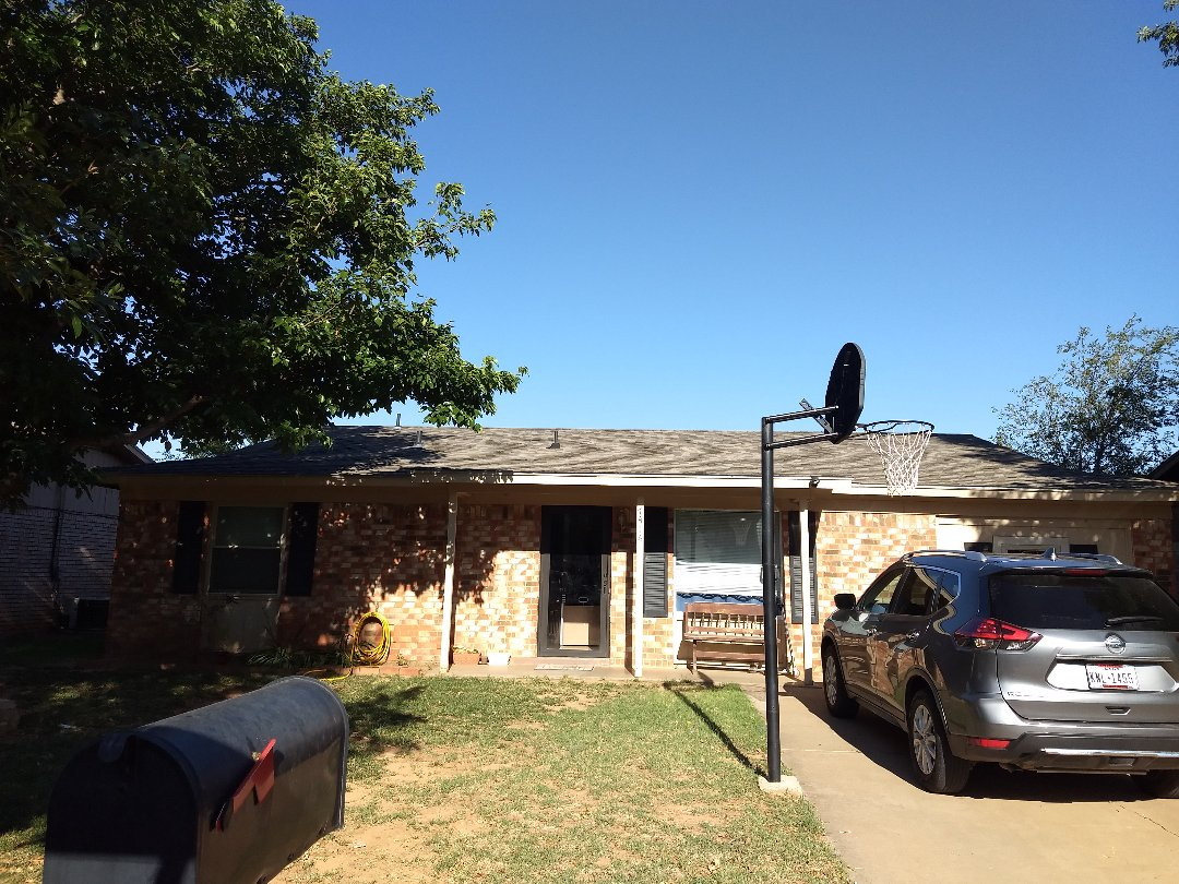 Levelland, TX - Re-roof estimate for wind and hail damaged roof
