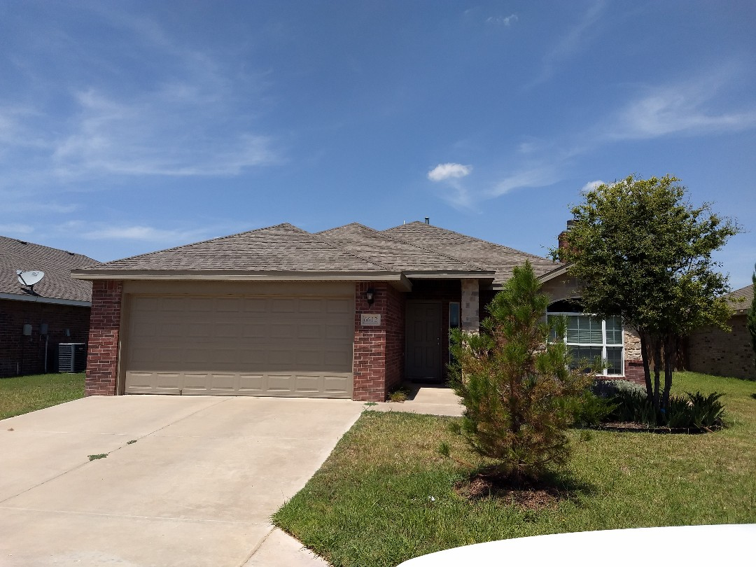 Lubbock, TX - Re-roof estimate for hail damaged roof