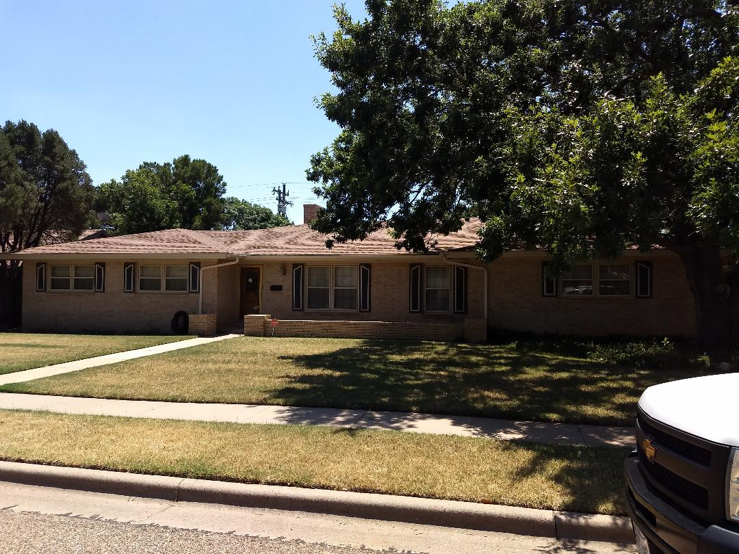 Lubbock, TX - Re-roof estimate for wind and hail damaged roof