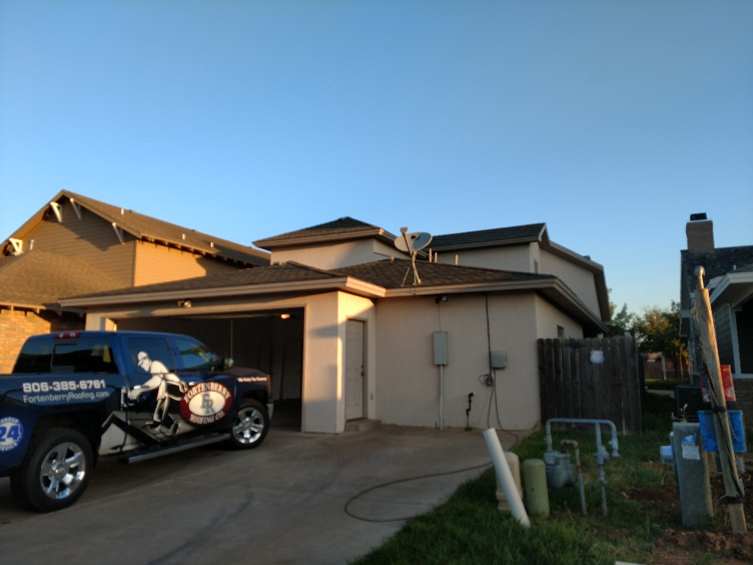 Lubbock, TX - Inspecting a house for roof damage hail damage or any other problems. Client is selling house and would like a complete inspection.