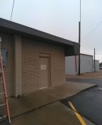 Levelland, TX - Leak repair on commercial bldg