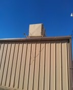 Levelland, TX - Leak repairs on metal and deckra roofs