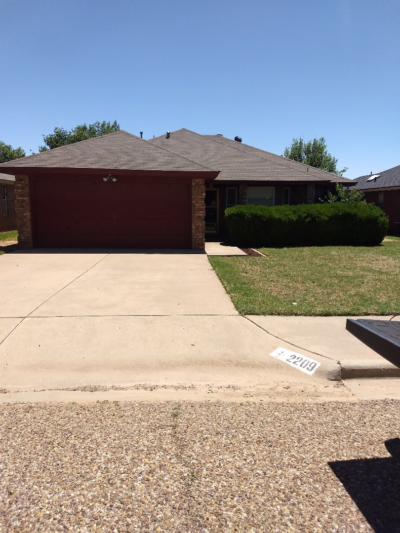 Lubbock, TX - Hail inspection for current customer.