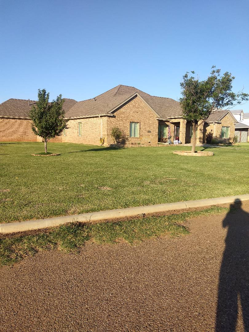 Lubbock, TX - Hail inspection for current customer. Class 4 shingle with Ridge Ventilation.