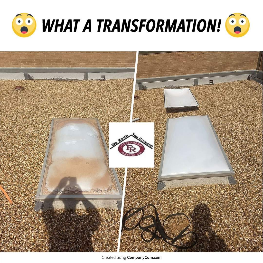 Levelland, TX - Skylight done replacement
