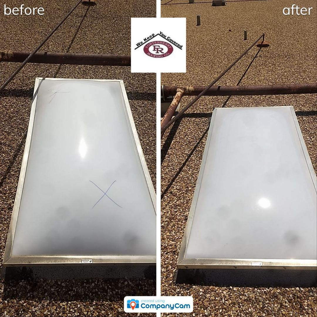 Levelland, TX - Skylight dome replacement