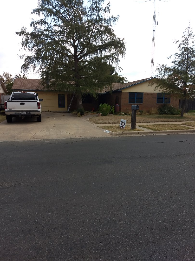 Lubbock, TX - Completed reroof for customer.