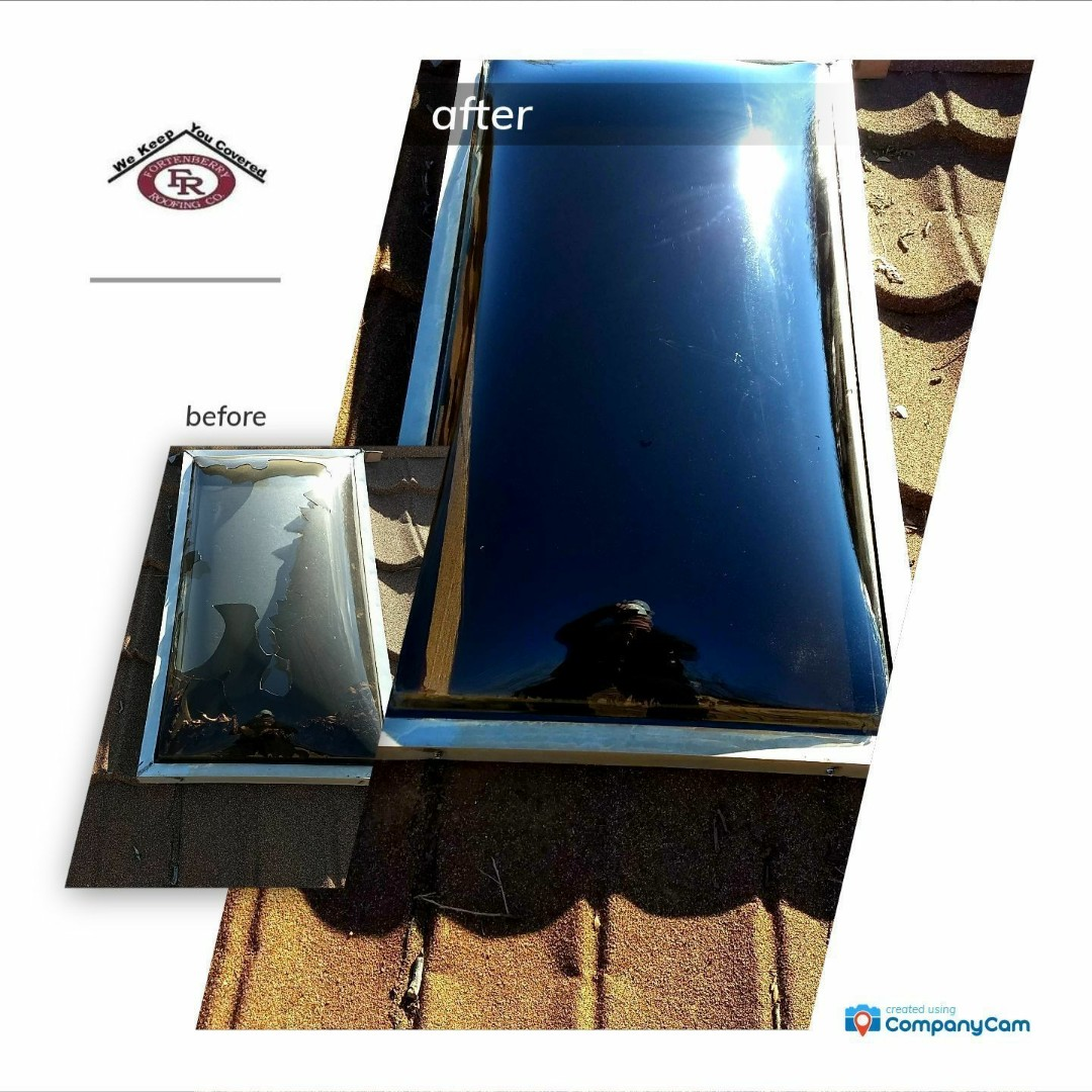 Anton, TX - Another happy customer skylight repair