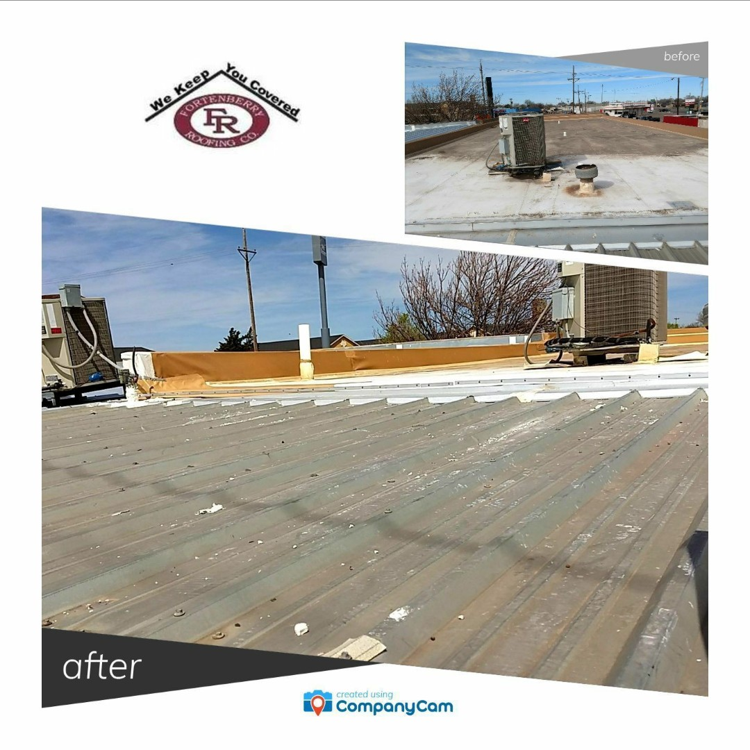 Hereford, TX - Drip edge repair