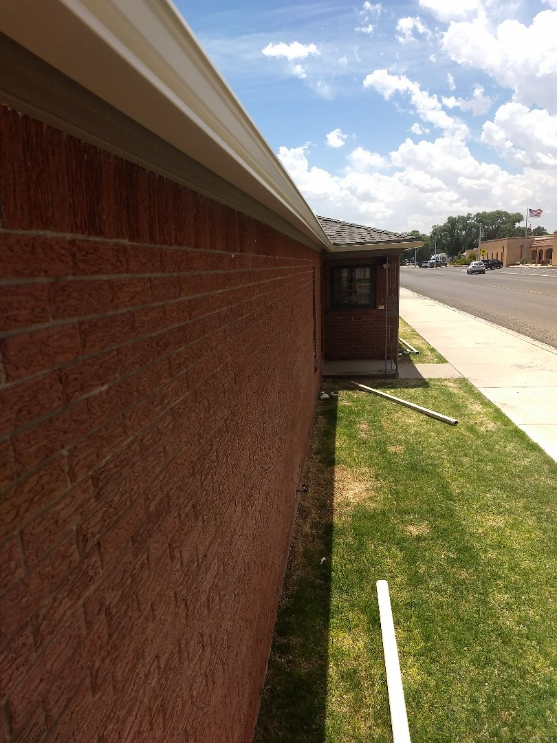 Muleshoe, TX - Gutter installation