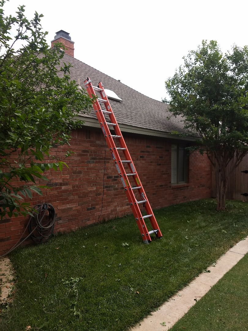 Lubbock, TX - Temporary emergency repair