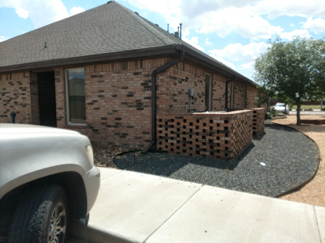 Lubbock, TX - Roof inspection for hail damage and also an estimate for a roof.
