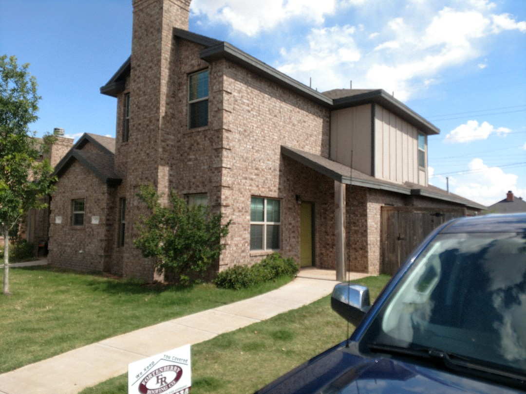 Lubbock, TX - Roof inspection for hail damage and also a roof estimate.