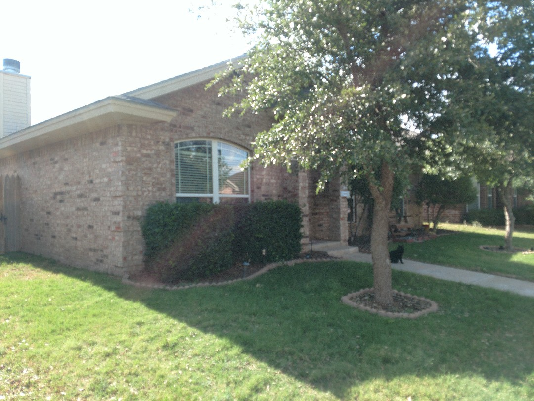 Lubbock, TX - Given a roof inspection for hail damage and also a roof estimate.