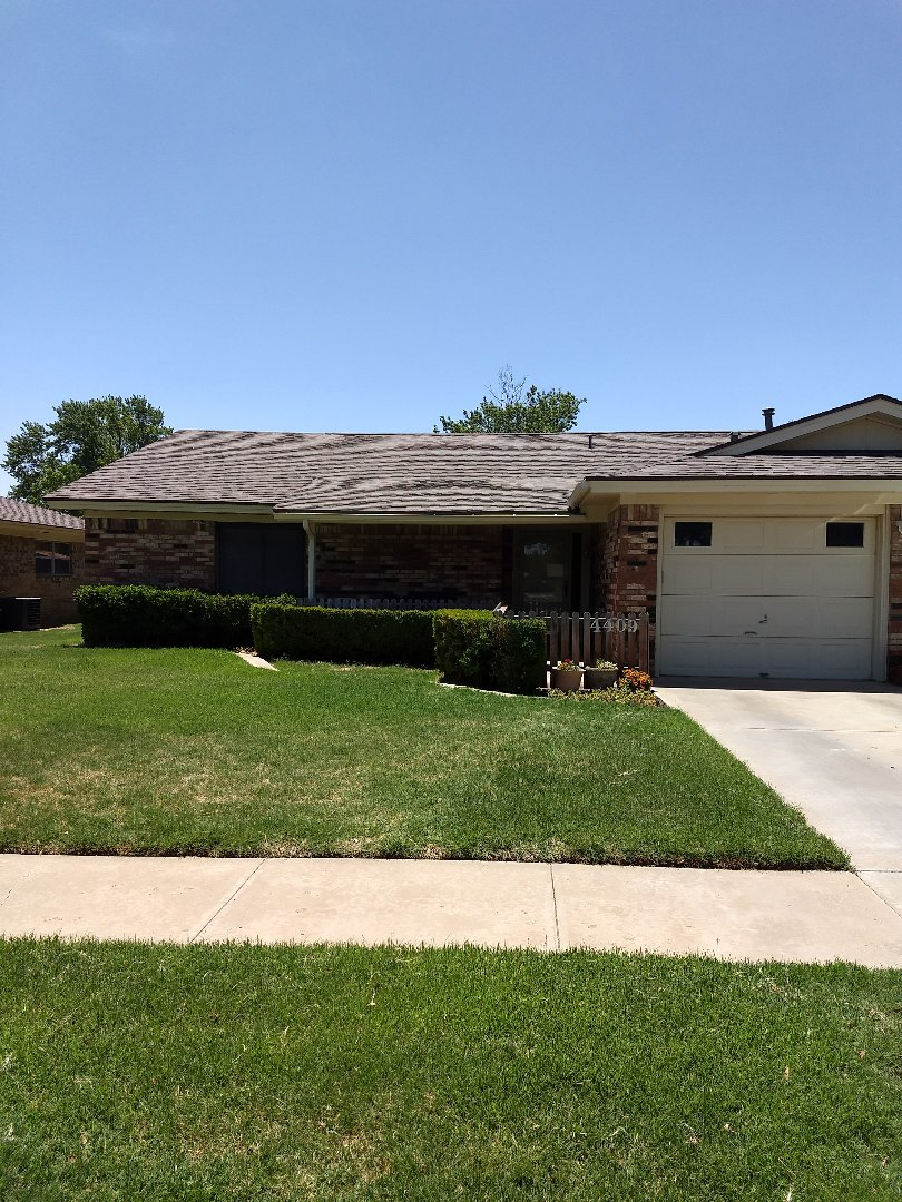 Lubbock, TX - Broken skylight repair and hail damage inspection