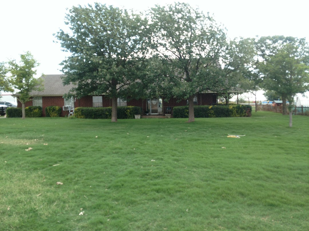 Abernathy, TX - Give an estimate for a re-roof from hail damage.