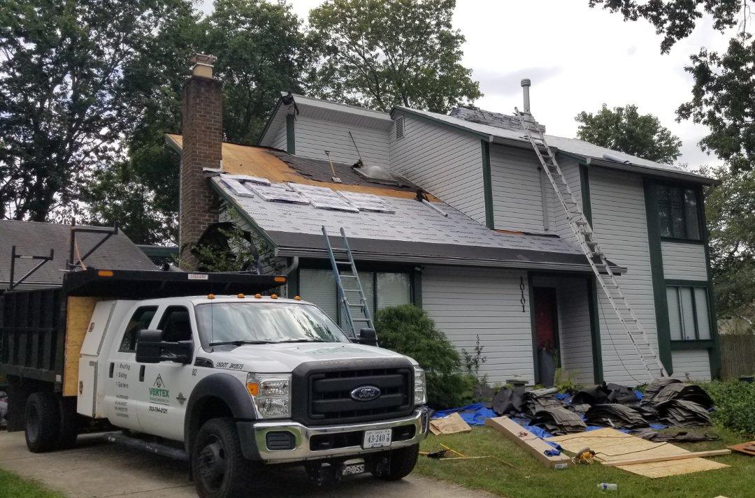 Manassas Va Vertex Roofing Contractors Inc Local Roofe