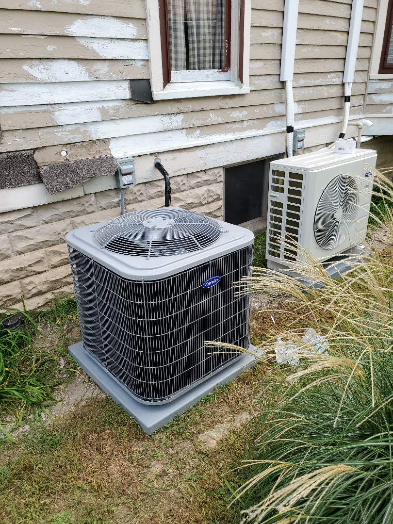 Hope, IN - Replace furnace Replace A/C