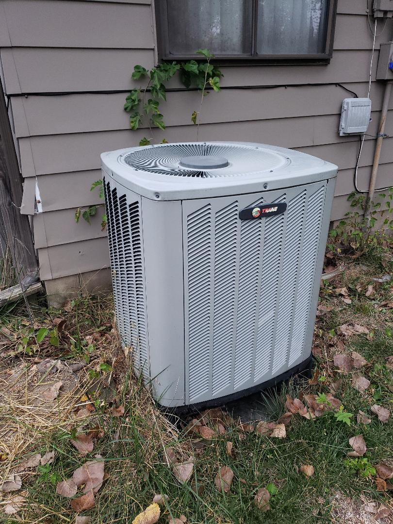 Greenwood, IN - Heating pm on a trade air handler heat pump