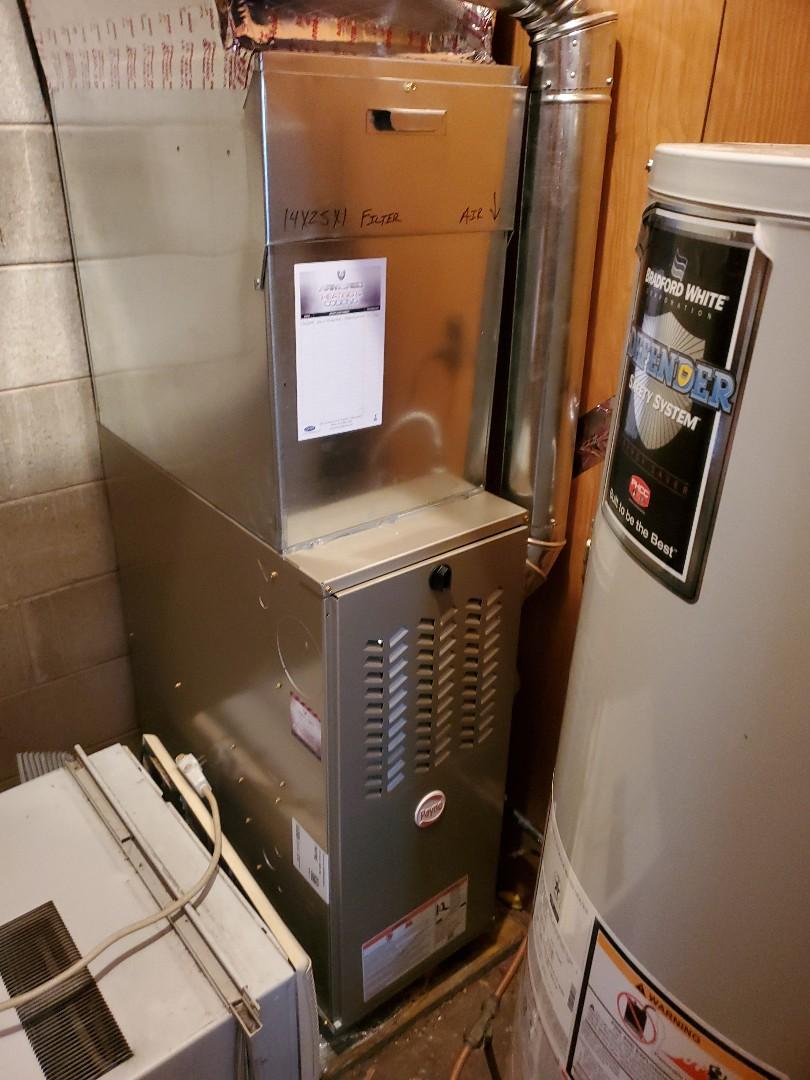 Edinburgh, IN - Furnace install