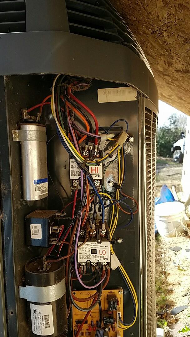 Lake Dallas, TX - Trane air conditioning system