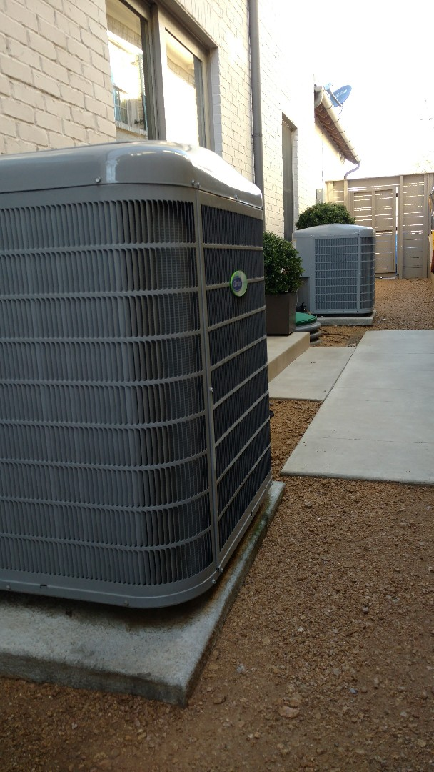 Dallas, TX - 3 zone cooling in highland park. Systems are in excellent condition.